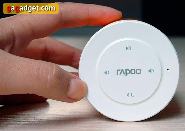 Беглый обзор Bluetooth-колонки Rapoo A3060