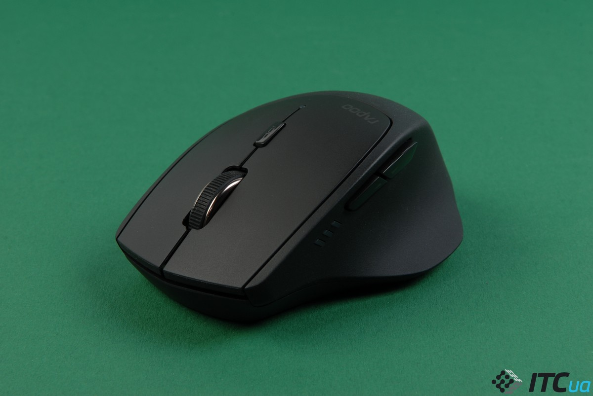 Обзор беспроводной мыши RAPOO MT550