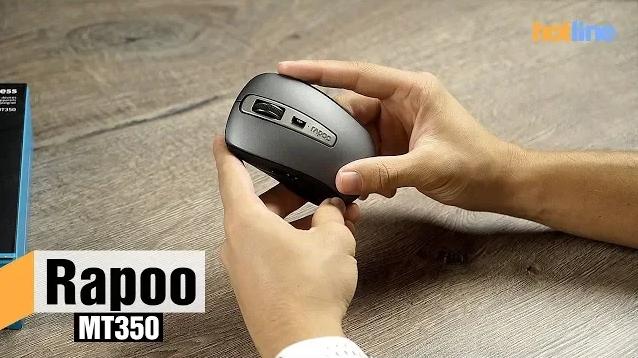 Bидeooбзop беспроводной мыши Rapoo MT350