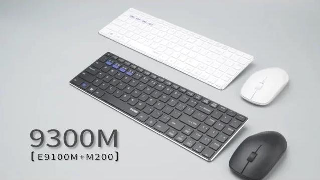 Видеообзор беспроводного комплекта Rapoo 9300M