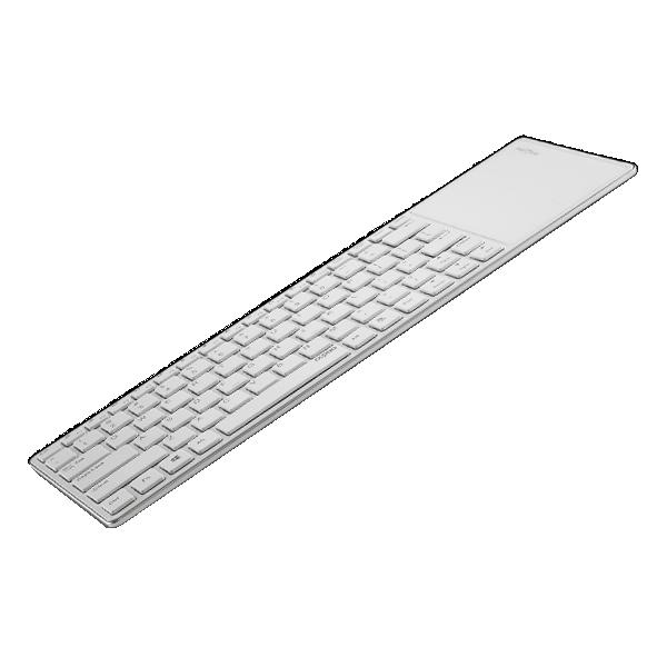 Rapoo Bluetooth Touch Keyboard E6700 White фото