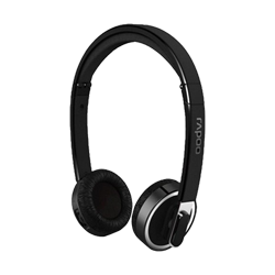 Rapoo Wireless Foldable Headset H3080 Black