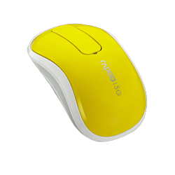 Rapoo Wireless Touch Mouse T120P Yellow