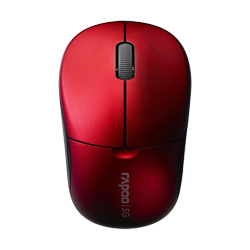 Rapoo Wireless Optical Mouse 1090p Red