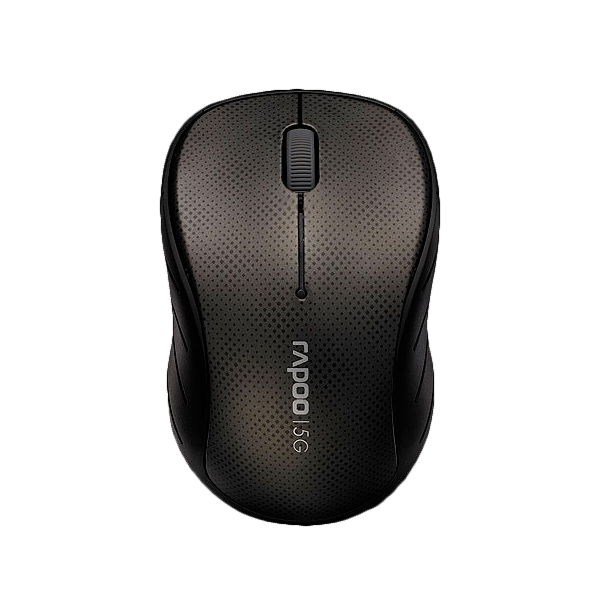 Rapoo Wireless Optical Mouse 3000p Gray фото