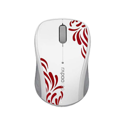 Rapoo Wireless Optical Mouse 3100p White