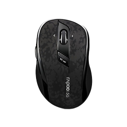 Rapoo Wireless Optical Mouse 7100p Black