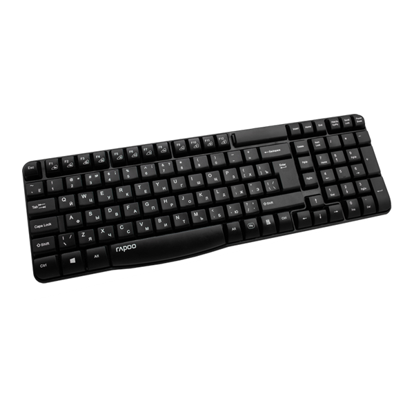 Rapoo Wireless Keyboard E1050 Black описание