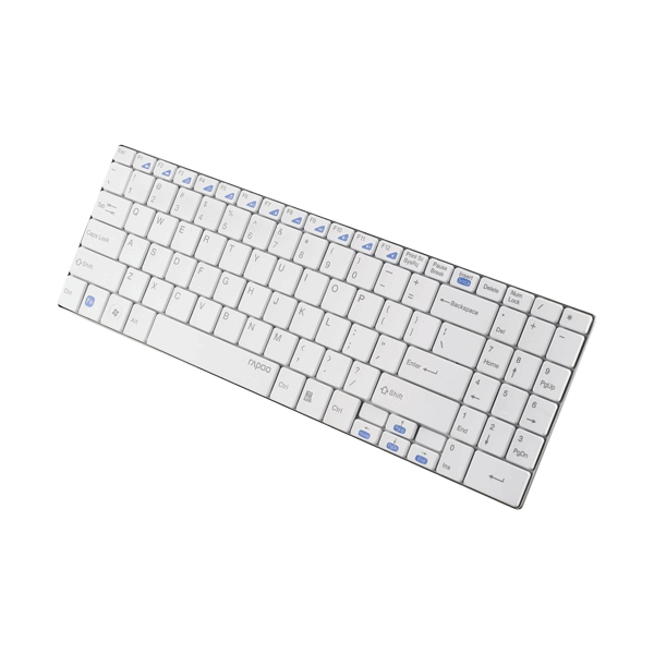 Rapoo Wireless Ultra-slim Keyboard E9070 White