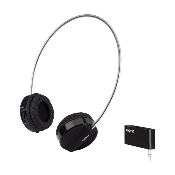 Rapoo Wireless Stereo Headset H3070 Black