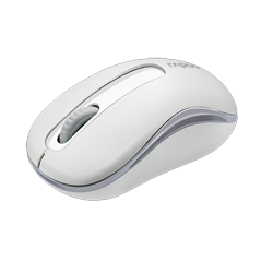 Rapoo M10 Wireless Optical Mouse White