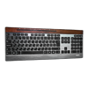 Rapoo E9260 Multi-mode Wireless Ultra-slim Keyboard Black