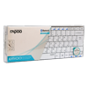 Rapoo BT Ultra-slim Keyboard E6100 White фото
